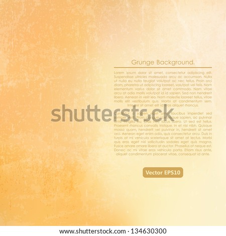 Grunge sun background. Wall. - stock vector