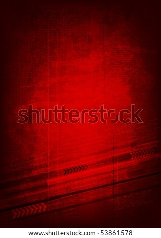 Grunge technical background - vector eps 10 - stock vector
