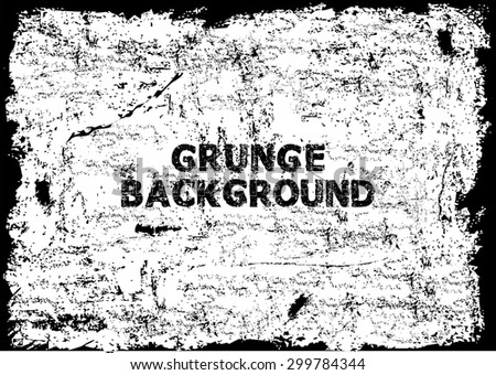 Grunge texture - abstract stock vector template - stock vector