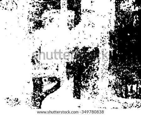 Grunge texture abstract vector background - easy to use