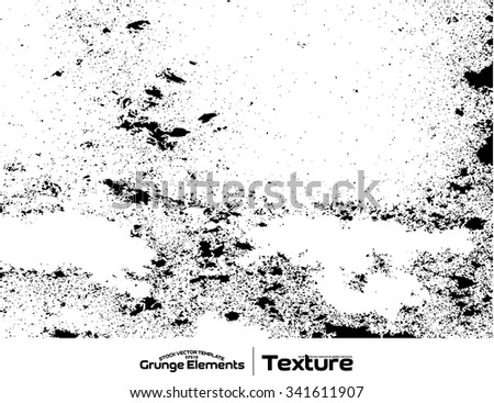 Grunge texture background - abstract isolated stock vector template - easy to use