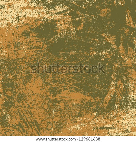 grunge tricolor texture. abstract background. vector illustration. - stock vector