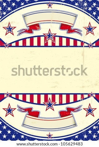 Grunge USA. A patriotic background for you