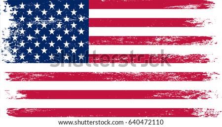 grunge usa flag vintage american flag vector stock vector 2018 rh shutterstock com usa flag vector download usa flag vector file