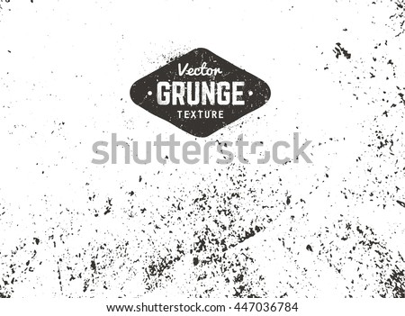 Grunge vector background texture. Grain noise distressed texture. - stock vector