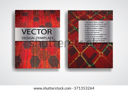 Chinese New Year Flyer Design Template Vector 232164700 – Retro Brochure Template