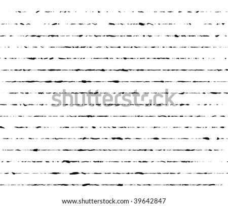 Grunge vector lines - stock vector