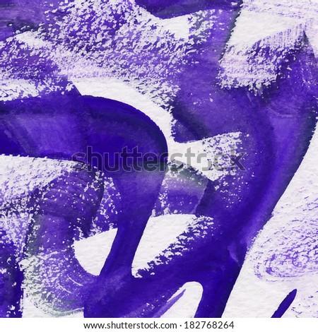 Grunge vector paint texture background - stock vector