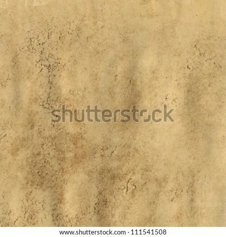 Grunge Vintage Old Paper Background, Vector Illustration - stock vector