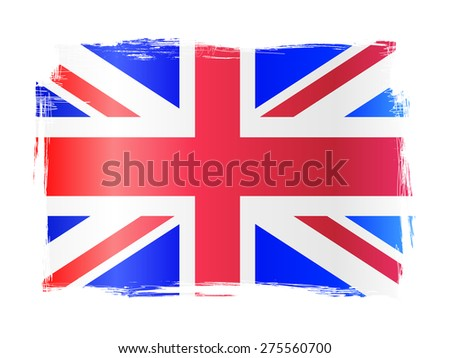 Grungy distressed flag of the UK, United Kingdom of Great Britain