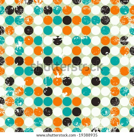 Grungy vector background illustration - stock vector