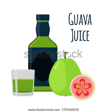 how to draw the logo of guava juice