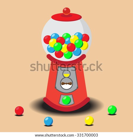 Gumball Machine, Vector