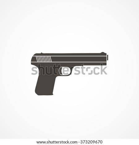 Gun icon - stock vector