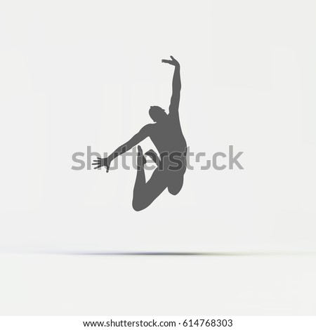 gymnast silhouette of a dancer gymnastics activities for icon health and fitness community