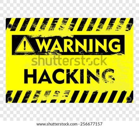 HACKING, STICKER
