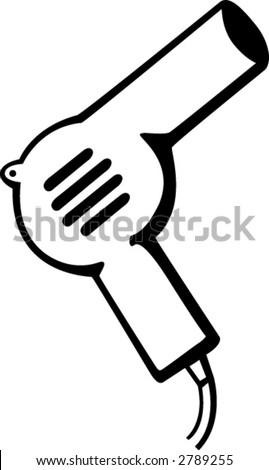 hair dryer blow dryer symbol stock vector 63296482 - shutterstock