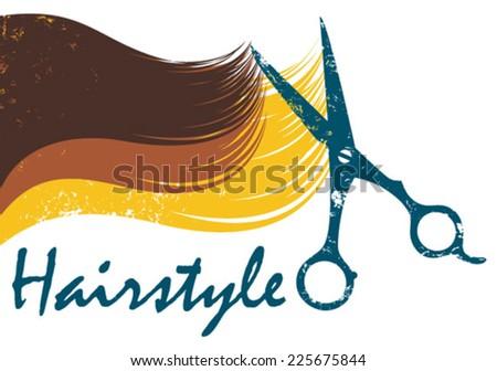 haircut icon - stock vector