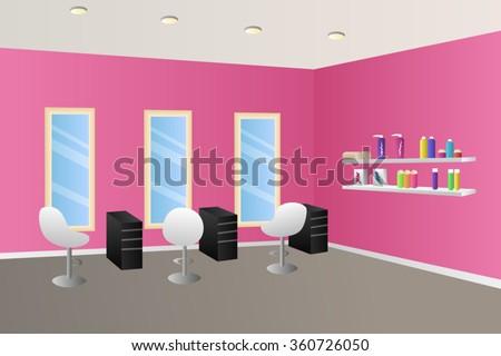 Beauty salon interior stock photos, royalty free images & vectors ...