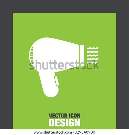 hairdryer vector icon