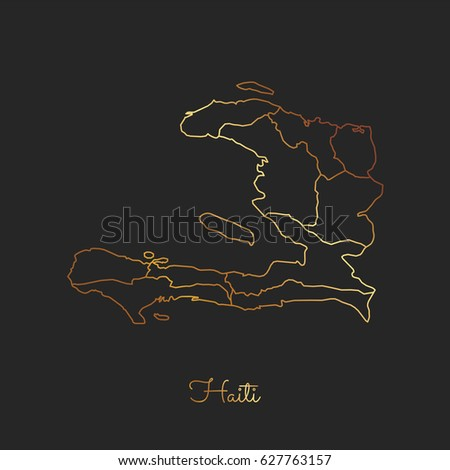 Haiti Region Map Stock Images RoyaltyFree Images Vectors - Haiti regions map