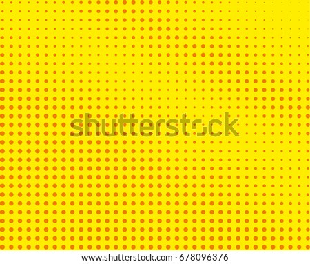 Halftone Background Comic Dotted Pattern Pop Stock Vector (2018 ...