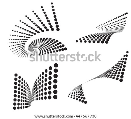 halftone dots background pattern dotted black and white background