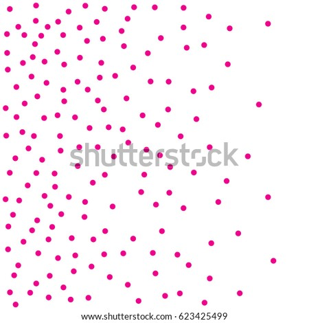 halftone dots pink dots on white stock vector 623425499
