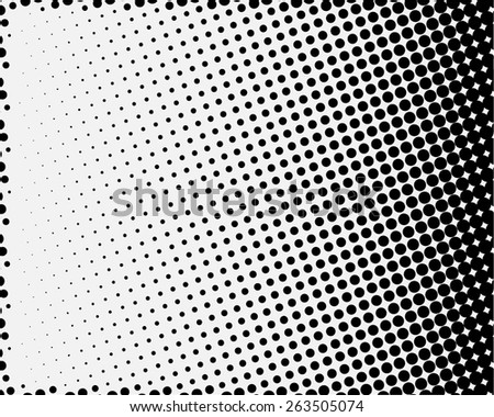 halftone dotted and circle art background, abstract pattern, can be used for wallpaper, pattern fills, web page background,surface textures. - stock vector