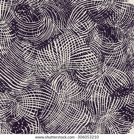 halftone drawing texture. abstract background. vector illustration. - stock vector