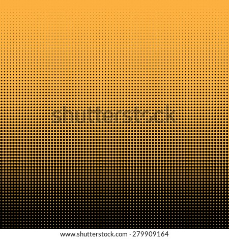 Halftone illustrator. Halftone dots.halftone effect. Halftone pattern. Vector halftone dots. Black dots on Color background. Vector Halftone Texture - stock vector