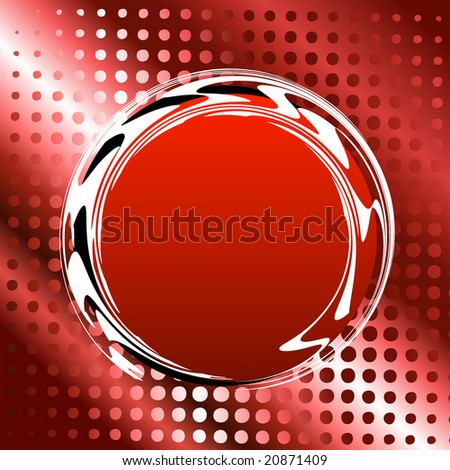 halftone pattern for text - stock vector