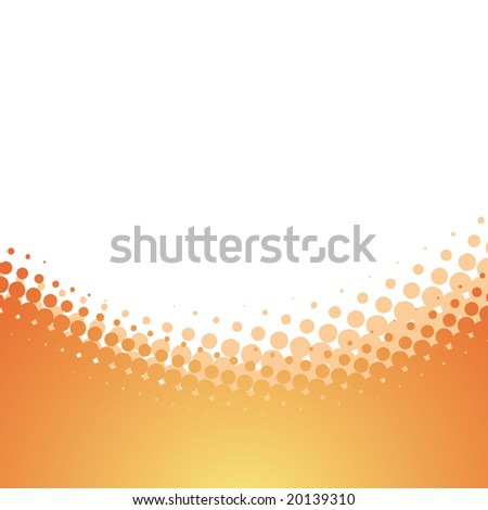 halftone vector design - stock vector