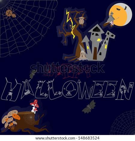 Halloween. - stock vector