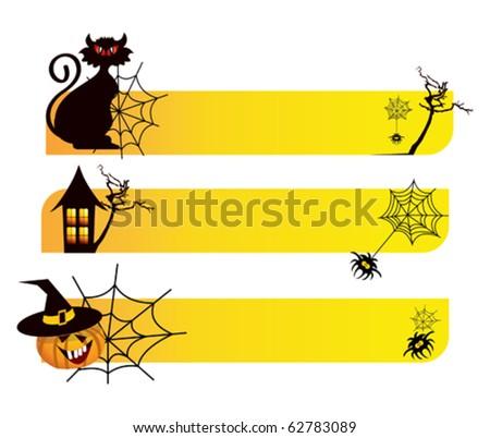 halloween - stock vector