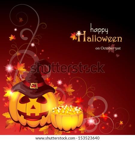 Halloween Background - EPS 10 - stock vector