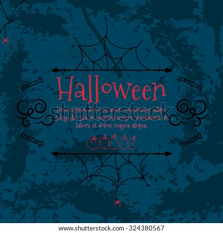 Halloween background. Vector