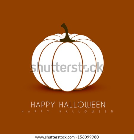 halloween background vector design illustration - stock vector