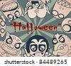 Halloween creatures. - stock vector