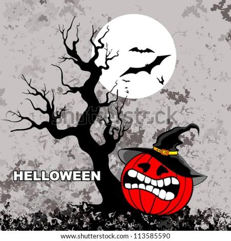 Halloween. Halloween background. - stock vector