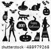 halloween icons.happy halloween ...