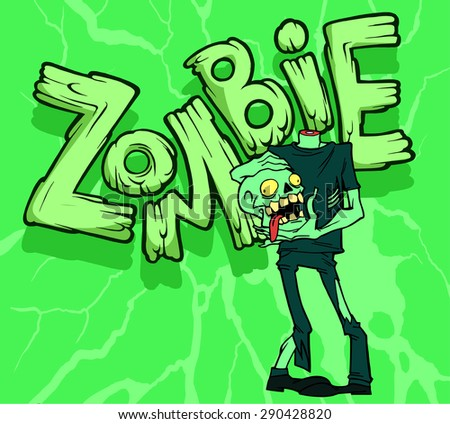 Funny Zombie Cartoon Stock Images, Royalty-Free Images ...