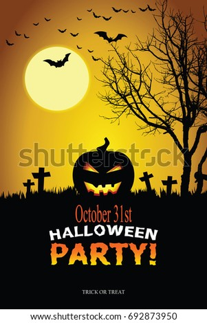 Halloween invitation vector eps 10 stock vector hd royalty free halloween invitation vector eps 10 stopboris Image collections