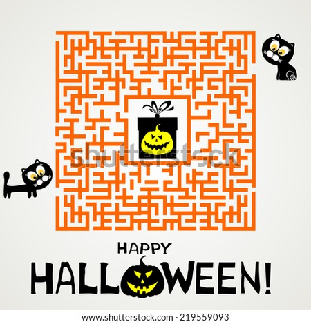 Halloween Maze Stock Images, Royalty-Free Images & Vectors ...