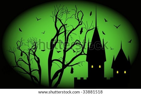 Halloween night. To see similar please visit my gallery. - stock vector