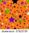 Halloween orange background - stock vector