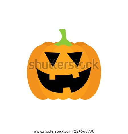Halloween pumpkin - stock vector