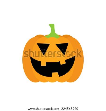 Halloween pumpkin - stock vector