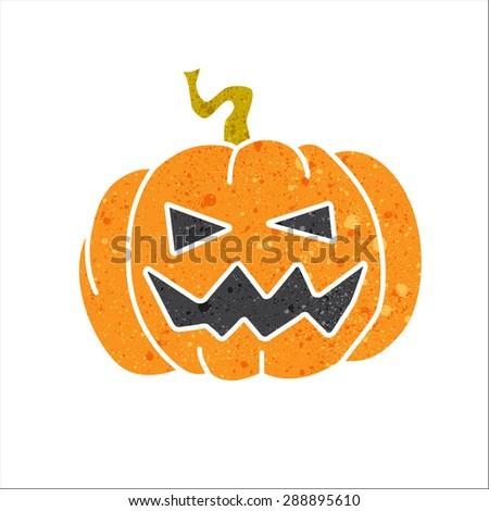 halloween pumpkin pumpkin with beautiful texture.  - stock vector