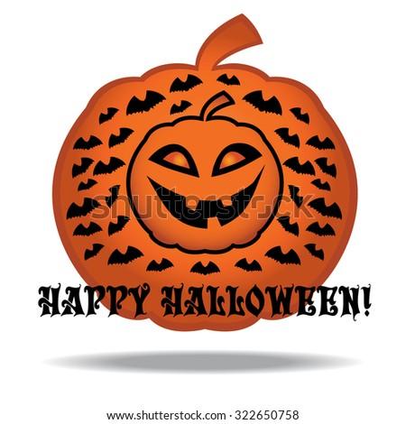 Halloween's symbol. Vector EPS10 - stock vector